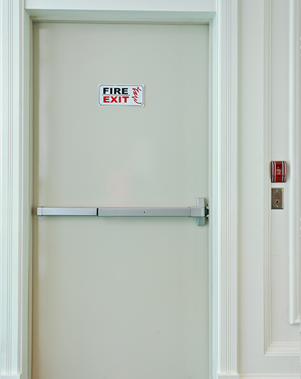 Emergency Exit Doors Amp Alarm Services Panic Bars Exit