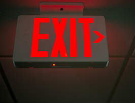 Emergency & Exit Lighting Service